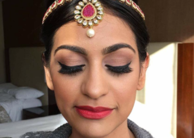 Chicago south asian makeup artist