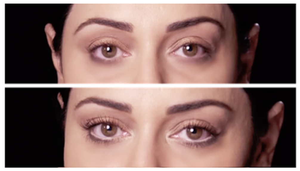 3 QUICK TIPS FOR BIGGER-LOOKING EYES: