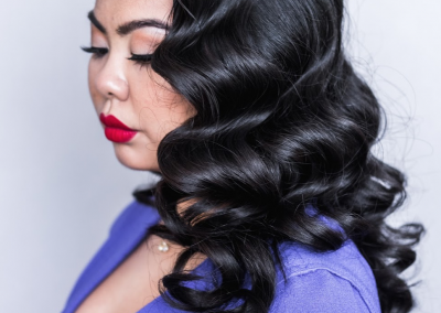 vintage waves: Chicago hairstylist